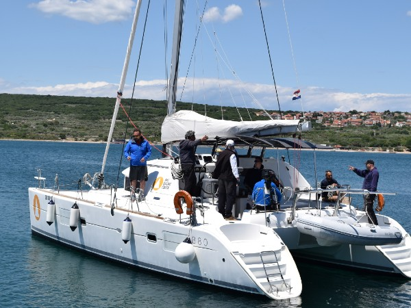 Catamaran Skipper Training